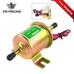 Универсальный дизельный бензин Бензин 12V электрический топливный насос HEP-02A низкого давления для большинства автомобилей карбюратор мотоцикл ATV HEP02A от