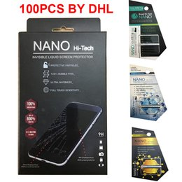 Gafas 3d lg online-1ML 5ML Tecnología NANO Universal NANO Líquido Protector de pantalla Cubierta completa invisible para teléfonos móviles para iPhone X 8 7 Samsung LG Glass