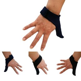 Argentina Protector ajustable del pulgar de los bolos del estiramiento - Bowling Ball Sports Finger Grip Gear Guante protector - Un tamaño cabe a la mano izquierda derecha supplier left handed gear Suministro