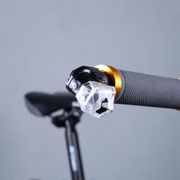 Wholesale Cycle Handlebar Ends - Bike LED Handlebar Light End Plug Warning Lamp MTB Road Night Cycling Safety Lamp Bicycle Accessories