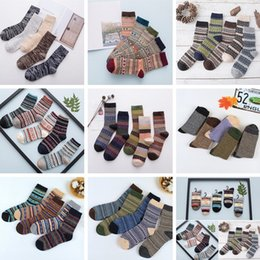 Wholesale girls thick warm socks - Wool Socks New Style Women Men Winter Thermal Warm Socks Fashion Colorful Thick Socks Ladies Girls Retro Rabbit Wool Casual Sock BAB59