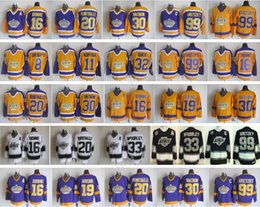 Argentina LA Kings Jerseys Los Angeles Hockey Retro 99 Wayne Gretzky 30 Rogatien Vachon 33 Marty McSorley 16 Marcel Dionne 20 Luc Robitaille cheap robitaille jersey Suministro