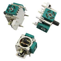 Envío gratis nuevo original 3D empuñaduras analógicas empuñaduras piezas de reparación del sensor palanca para el controlador XBOX 360 verde desde fabricantes