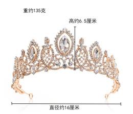 Бриллиантовые свадебные платья онлайн-H1087 новые свадебные головные уборы, хрустальный бриллиант европейского стиля, свадебное платье с короной, свадебное платье с обручем и аксессуары