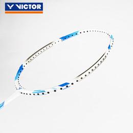 2019 luci mx Genuine 4U 3U Victor Super Light Badminton racchetta racchetta da badminton 100% carbonio con presa libera MX-7000N luci mx economici
