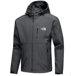 giacca impermeabile lunga da uomo Sconti Vendita calda Mens giacche firmate  manica lunga giacca a vento eccdff451db