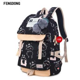 Wholesale Bookbags For School - Fengdong Lightweight Canvas Bookbags Water Resistant School Backpacks Most Durable School Bag for Teenage Girls and kids