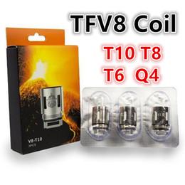Bobinas de repuesto V8 TBA Turbo V8 R10 Turbo V8 R6 para TFV8 Cloud Beast Tank desde fabricantes