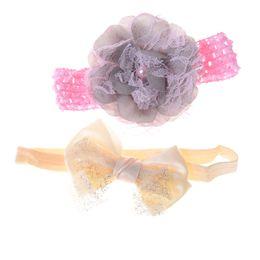 Украшение лука онлайн-3 шт. / лот детские заколки для волос девушки аксессуары для волос детские цветочные заколки орнамент Луки диадема заколки