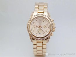 Wholesale Elegant Wrist Watch - 2018 Hot sale of high quality European classic style wrist watch delicate luxurious lovers watch high-end elegant rose gold watch
