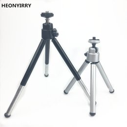 Wholesale iphone gopro - Mini Live Tripod For iphone 6s 7 Samsung Xiaomi Phone With Phone Clip Tripod Stand Mount Nikon for Gopro 5