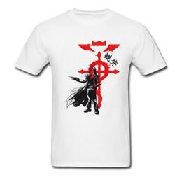 camisetas hombre nuevos diseños Rebajas Diseño de camisetas Brand New Round Collar Traditional Alchemist 100% Cotton Men Tops Shirts Simple Style Tshirts Camisetas Verano