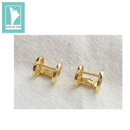 b5b399441 vintage screw back earrings Coupons - 2018 Fashion Vintage PUNK 925  sterling silver earring clip with