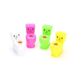 Wholesale Toilet Toys - Mini Funny Prank Squirt Spray Water Toilet Closestool Joke Gag Toys Surprise Halloween Gift For Kids Bathing Toys