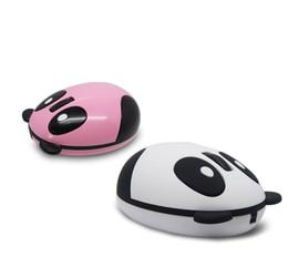 Wholesale Panda Mouse - Wireless Optical Mouse lovely panda Optical Wireless Mouses 2.4G Receiver carton wireless mouse for Laptop Desktop PC Mouse