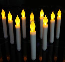 lampadina della candela della decorazione Sconti Candela LED Candela LED Candele senza fiamma a batteria lunghe Candela elettronica lunga Natale Decorazione di San Valentino