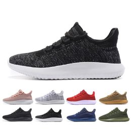 Wholesale Women Summer Knitted Boots - Originals Tubular Shadow men and women Running Shoes Knit Core Black White Cardboard Tubular Shadow 3D Boots Training Shoes us 5-11