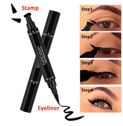 Wholesale Permanent Eyeliner - Wholesale Hot Black eye liner Makeup tools accessories Not Dizzy Waterproof Liquid Eyeliner Pencil best quality eyeliner to eye permanent
