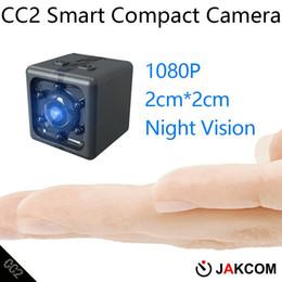 Vídeos escondidos on-line-JAKCOM CC2 câmera compacta venda quente em filmadoras como avis fone de ouvido filmadora 4k câmera escondida