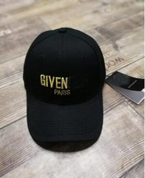 Wholesale Cotton People - Gy Baseball Cap Letter Embroidered Visor Men and women Hip-hop Street Fashion Baseball Hat