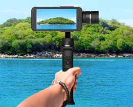 2019 steadicam iphone Beyondsky Eyemind Electronic estabilizador inteligente 3 ejes Gyro Handheld Gimbal Stabilizer para teléfono celular cámara anti-vibración de la cámara LLFA
