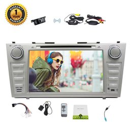 gp toyota Promo Codes - Wireless camera+for Toyota Camry Eincar 8'' In Dash Car DVD Player Android 7.1 Head Unit Radio (AM FM) Player Stereo Steering Wheel