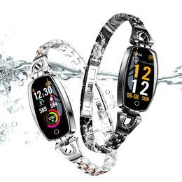 relógios inteligentes h8 Desconto H8 inteligente Pulseira Mulheres Heart Rate sono Smart Monitor Banda Pressão Arterial Watch Band Para pulseiras Android