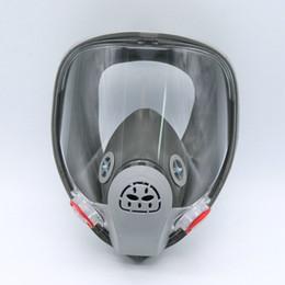 maschere di vernice spray Sconti Maschera antigas facciale Maschera di vapore biologico Respiratore Maschera per la verniciatura a spruzzo Anti-polvere formaldeide Fuoco per 6800
