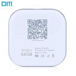 Extension de disque DM WFD015 32 Go / 64 Go sans fil WiFi Phone U pour ordinateur portable iPhone iPad iOS / Android avec voyant lumineux ? partir de fabricateur