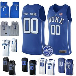 Wholesale Number 32 - Custom Duke Blue Devils NCAA College Basketball 2 Gary Trent Jr. Personalized Any Name Number Stitched #1 #4 #14 #15 #32 ACC Jerseys