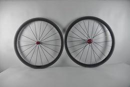 Wholesale 24 Inch Road Wheel Set - Carbon Bike road Wheels Bicycle Wheelset 38mm Tubular 20.5mm Width Novatec 271 Light Hub 700C Carbon Road Wheel