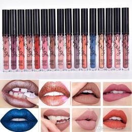 Nouveau 16 couleurs rouges à lèvres métalliques étanche kit de lèvre mat brillant à lèvres or 24 heures durable nude rouge à lèvres de velours NC001 ? partir de fabricateur