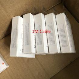 led câble smiley Promotion Câble de données USB de qualité OEM de 1m 3FT OD 3.0mm avec 144 câble usb tressé en métal avec boîte d'emballage de vente au détail