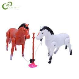 Wholesale Around Circle - Electric horse toys around the pile circle children 's toys baby birthday gifts children' s educational LYQ