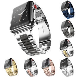 Stainless Steel Watchband for Watch / Sport Wrist Band Bracelet Strap with adapter Black Silver от