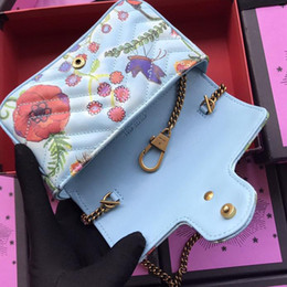 Wholesale Mini Lock Box - Top Qulity brand casual nimi bags ladies women Top cowhide leather embroidered personality bags Famous Designer shoulder bag with box 476433