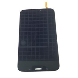 Pantalla de reemplazo para la pestaña samsung online-Nueva pantalla LCD Pantalla táctil Reemplazo del digitalizador para Samsung Galaxy Tab 3 8.0 T310 sm-T310 Negro / Blanco con vidrio templado DHL logística