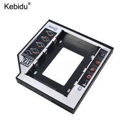 kebidu Universal Aluminium Plastic 2nd HDD SSD caddie SATA 3.0 de 12,7 mm pour 2.5