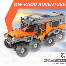 lepin blocks Australia - New XingBao 03027 Car Series LEPIN TECHNIC The All Terrain Vehicle Set Building Blocks Bricks Toys For Kids Educational Toys