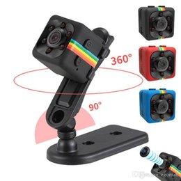 Wholesale Digital Wireless Remote - SQ11 Mini Camera HD 1080P Night Vision Camcorder Car DVR Infrared Video Recorder Sport Digital Camera Support TF Card DV Camera