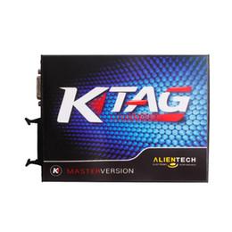 Wholesale Automobile Programmers - KTAG V2.10 ECU Programming Tool Master Version No Checksum Error Automobiles Vehicle Tools Diagnostic Tools professional tool