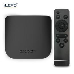 lecteur multimédia pour pc Promotion Abonnement M8S PLUS W Amlogic S905W Quad Core Android 7.1 Tv Box 1 Go 8 Go Ultra Mince Lecteur multimédia intelligent 2.4G WiFi 4K Mini PC Abonnement IPTV