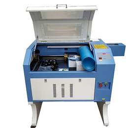 Wholesale Co2 Laser Engraving Machine - laser engraving and laser cutting machine TS4060 with M2 system CO2 laser tube 400*600mm 60w