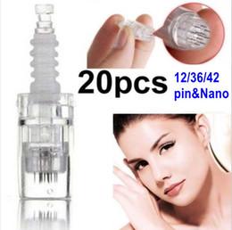 12/36/42/нано игла картридж для электрический автоматический штамп дермы ручка MYM доктор ручка 20шт от