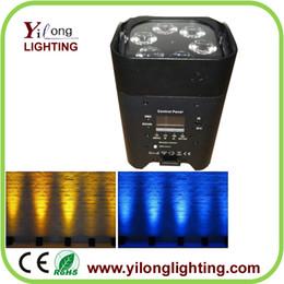 Wholesale Led Par Lights Cheap - cheap 6X18W RGABWUV battery powered par led,battery recharged led par light,wedding decoration,party light for sale