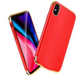 2019 супер цифровой мобильный Для iPhone X внешний Банк питания зарядное устройство чехол 10000 мАч Портативный телефон резервного батарейного отсека с розничной упаковке