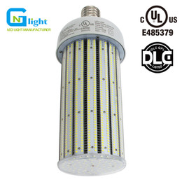 Wholesale Corn Work - Crystal White PC Cover SMD LED Corn Cob Bulb 250 Watt Work shop Tennis Court High Bay Fixture Light 360 Degree Beam Angle
