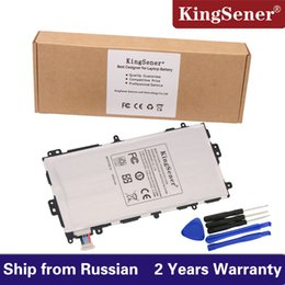 Wholesale Galaxy Tablet Battery - Kingsener New SP3770E1H Replacement Battery For Samsung Galaxy Note 8.0 8 3G GT-N5100 GT-N5110 N5100 N5120 Tablet Tab Batteries