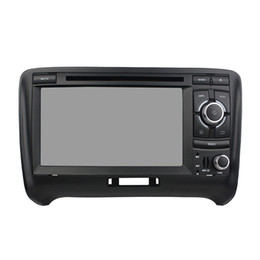 Wholesale Audi Gps Stereo - Free shipping Octa core Andriod 6.0 Car DVD player for Audi TT with GPS,Steering Wheel Control,Bluetooth, Radio