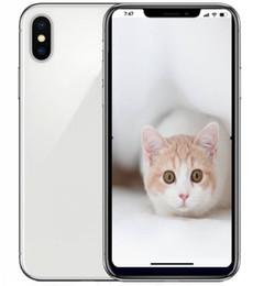 Wholesale Wholesale Indonesia - ERQIYU unlocked cell phones show 4G LTE 4GB RAM 128GB ROM Goophone X 5.8inch Full screen Octa Core MTK6592 Smartphones